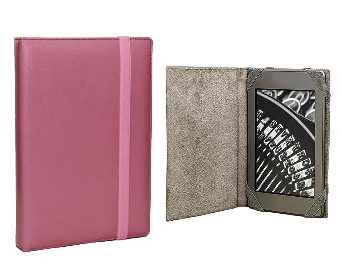 ANVAL Funda para EBOOK Sony PRS 65O Touch Color Rosa: Amazon.es ...