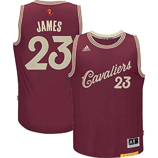 best website 91662 7fb8f LeBron James Cleveland Cavaliers #23 NBA Youth Christmas Day Swingman Jersey