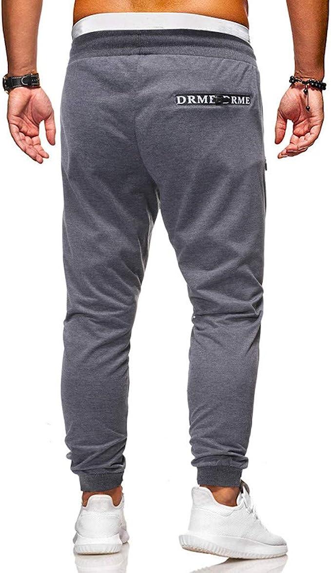 Pantalones Hombre Chándal de Hombres Impresión Pantalones Casuales ...