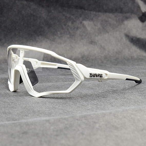ZZKHSM Gafas fotocromáticas Gafas de Ciclismo al Aire Libre Gafas ...