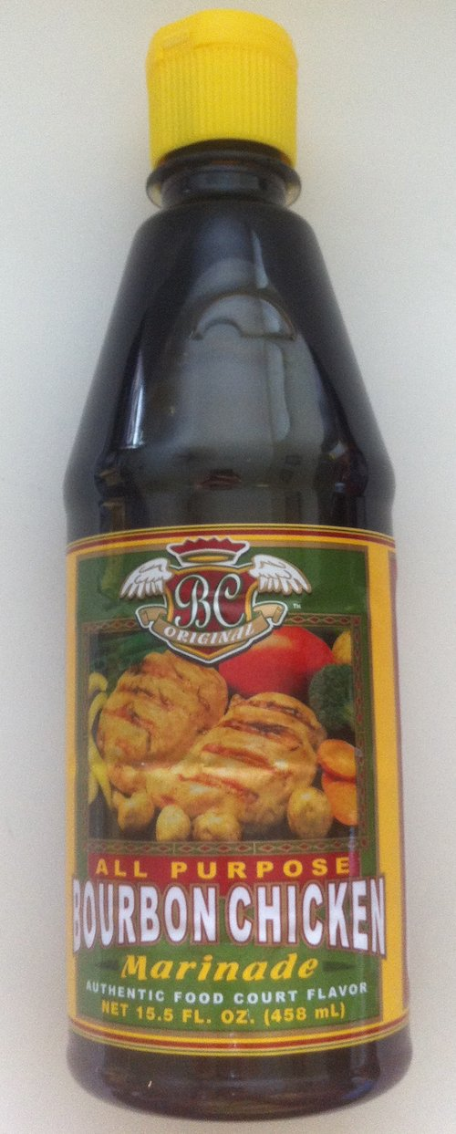 BC Original Bourbon Chicken Marinade All Natural 15.5 Oz (Single Bottle) - Product of USA
