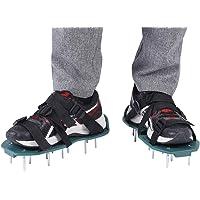 Gazonbeluchter Schoenen - Ontwerp met enkele riem Gras Beluchten Spike Sandalen Tuingereedschap Bodembeluchtingsschoenen…