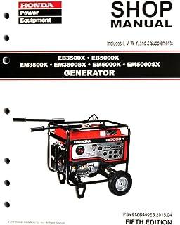 honda em6500s manual free user guide u2022 rh globalexpresspackers co Honda EM 6500 SX Honda Generator Parts