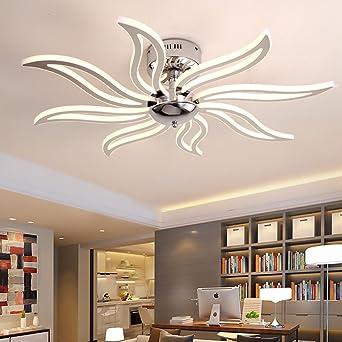 Lámpara de techo LED blanco cálido Modern creativo toque ...