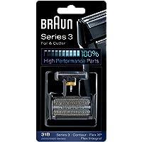 Braun Series 3 31B Electric Shaver Replacement Foil, Black