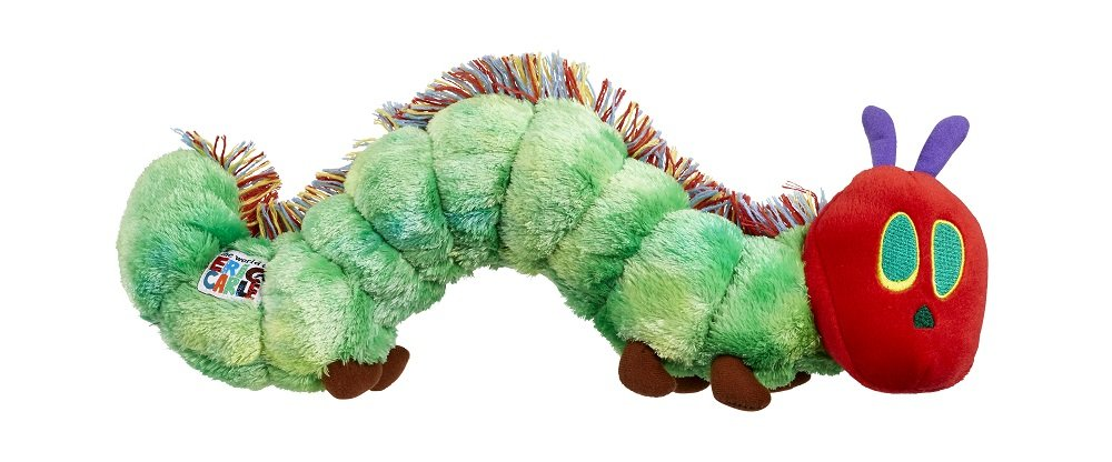 Rainbow Designs The Very Hungry Caterpillar Bean Toy 96211 B000UEBFXW Plush Toys & Animals Plush & Toy Items - Eric Carle