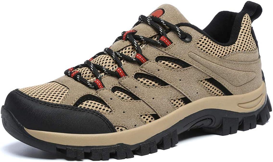 Zapatillas de Hombre Trekking Senderismo para Transpirable Camping ...