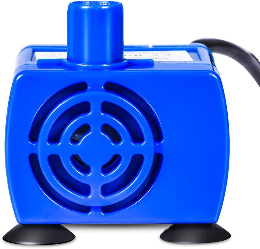 Reemplazo Potente de la Bomba de Fuente para Mascotas de 12V Bomba de Agua para Mascotas con Cable de Alimentaci/ón de 1,8 m YHG Bomba de Agua Sumergible para Fuente de Mascotas