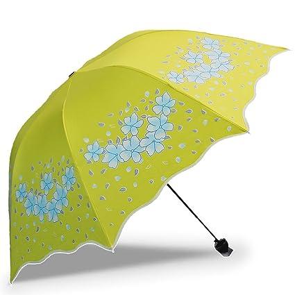 cc268ba5daea Amazon.com: SX-ZZJ Umbrella Windproof UV Protection Umbrella Black ...