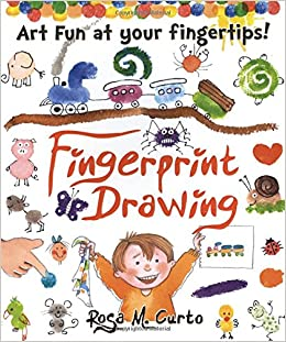 Fingerprint Drawing Art Fun At Your Fingertips Rosa M