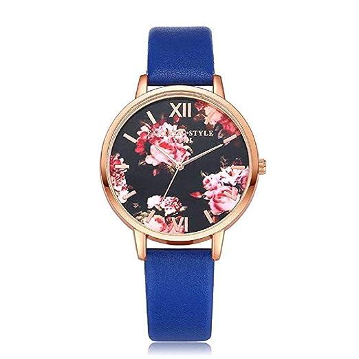 ¡Promoción Mujeres Relojes de Flores Liquidación Relojes para Mujeres Relojes Femeninos a la Venta Relojes