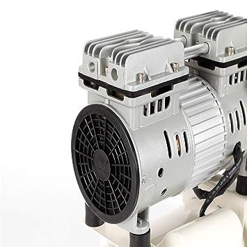 Yiiby 680W Silent compresor de aire comprimido compresor de gas 12 L compresores de aire sin aceite compresor: Amazon.es: Bricolaje y herramientas