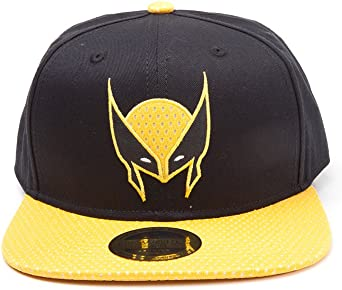 Meroncourt Marvel Comics X-Men Wolverine Mask Snapback Baseball ...