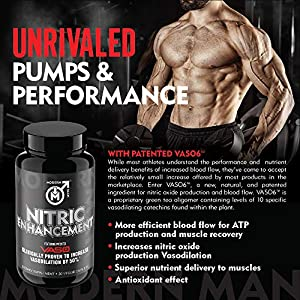 Nitric Oxide Enhancement by Modern Man – Pump Enhancing Alpha Male Booster for Men - Yohimbine HCL, Maca Root | Increase Strength, Size & Stamina | Muscle Gain Supplement - 30 Pills natural male performance pills - 61C6u uBMHL - natural male performance pills