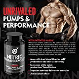- 61C6u uBMHL - Nitric Oxide Enhancement by Modern Man – Pump Enhancing Alpha Male Booster for Men – Yohimbine HCL, Horny Goat Weed & Maca Root | Increase Size, Strength & Stamina | Muscle Gain Supplement – 30 Pills
