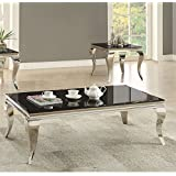 Coaster Home Furnishings 705018 Coffee Table, Black