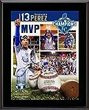 "Salvador Perez Kansas City Royals 2015 MLB World Series Champions 10.5"" x 13"" World Series MVP Sublimated Plaque"