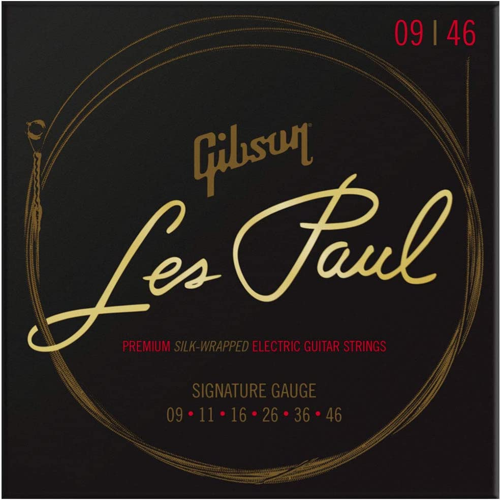 Gibson Les Paul Premium Electric Guitar Strings, Signature Gauge