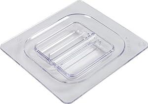 San Jamar CI7111L Chill-It 1/6 Standard Food Pan Lid, Clear