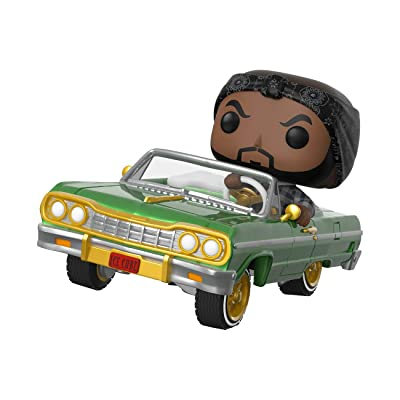 Funko Pop! Rides: Ice Cube in Impala, Multicolor: Toys & Games
