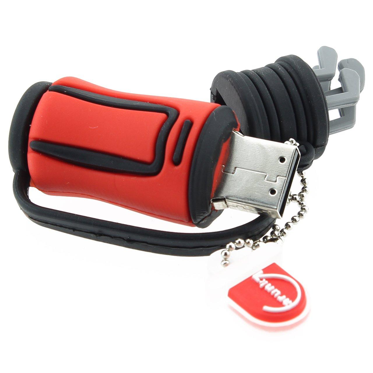 USB Stick Bolsa de golf palo de golf rojo rojo 8 gb: Amazon ...