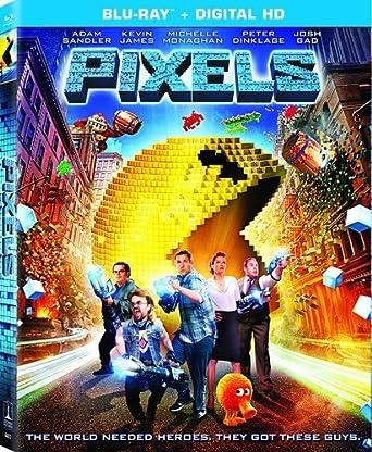 Amazoncom Pixels Blu Ray Ultraviolet Adam Sandler