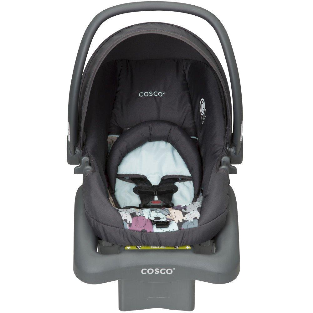 Cosco Light N Comfy DX Infant Car Seat, Pink Poppy Field Cosco Inc IC207DVR