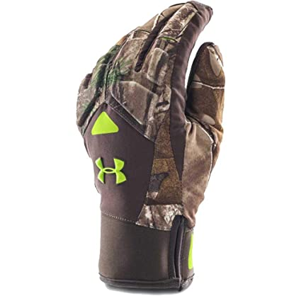 4d781009733a7 Under Armour Men's ColdGear Infrared SC 2.0 Primer Gloves, Realtree  AP-Xtra, Small