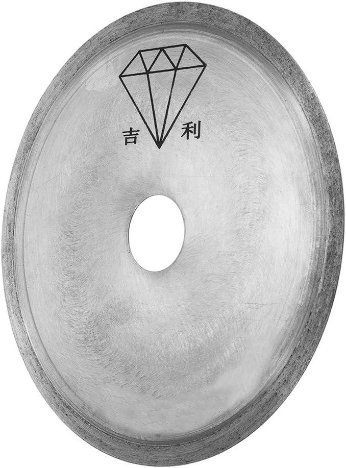 HELEISH Disco de corte lapidario de la hoja de sierra del segmento de diamante sinterizado de 150 mm de di/ámetro 150 mm Herramienta accesoria