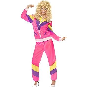 Chándal de entrenamiento para mujer años 80 disfraz traje ...