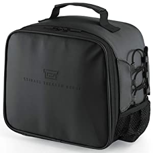 Lunch Box Insulated Lunch Bag for Men Women, Leakproof Thermal Reusable Lunch Tote for Adult Kids, Lunch Cooler for Office Work Outdoor Picnic by Soundance, Black
