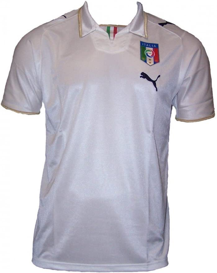 Puma - Italia 2ª Camiseta 08/09 Hombre: Amazon.es: Deportes y aire ...