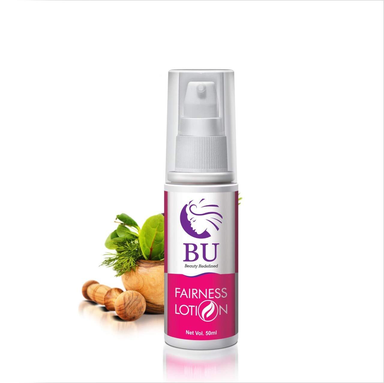 BU Healthcare BU 100% Natural and Herbal All-in One Multi-Purpose Fairness, Anti-Tan, Pimple Remover Cream With Anti-Oxidants/Vitamin C,E, Jojoba Oil and Aloe Vera Extract (50 ML)