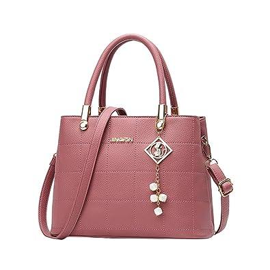 571eb54a4fc Amazon.com: Aelicy Women's Leather Handbags Female Shoulder Bag ...