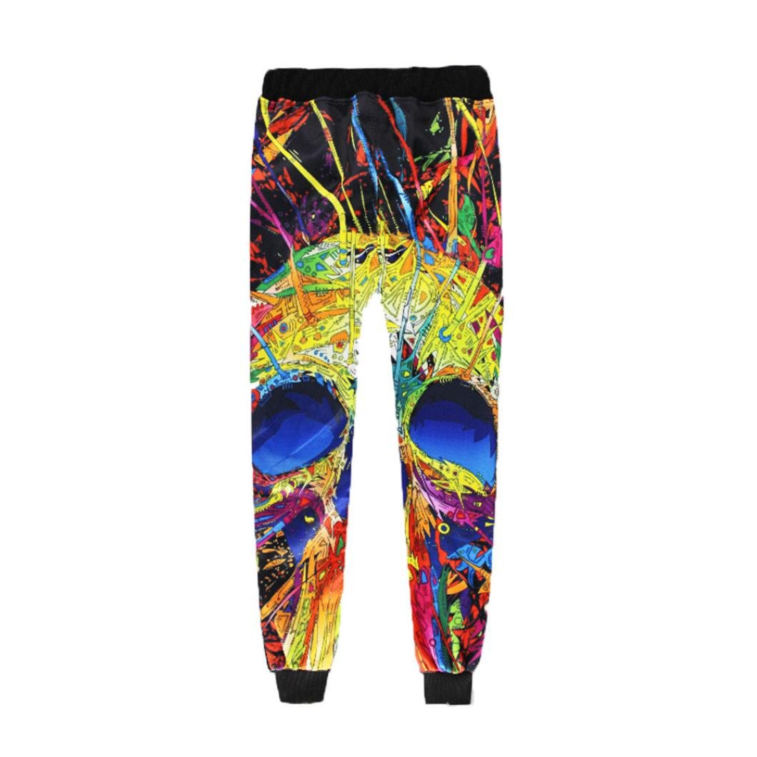 Allywit Sweatpants Men Funny Print 3D Joggers Pants Male Casual High Waist Long Trousers by Allywit (Image #2)