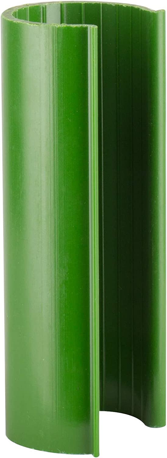 HD Green Snap Clamp 1/2 Inch X 4 Inches Wide For 1/2 PVC Pipe 10 per Bag
