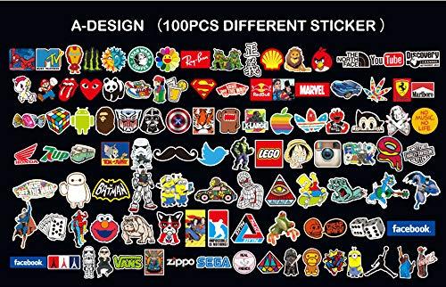 Neuleben Sticker Pack 100 Pcs Sticker Decals Vinyls For