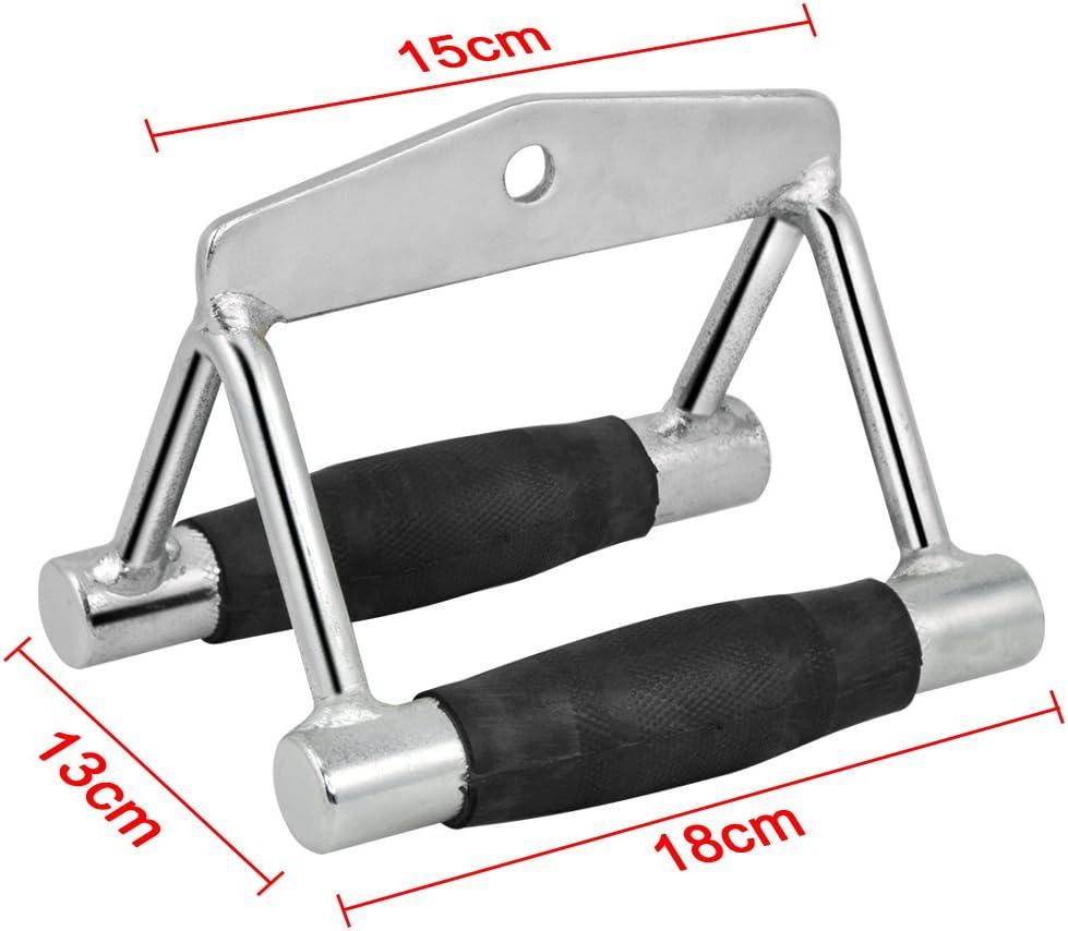 Tinkertonk Multi Gym-Attacco cavo singolo//doppio//staffa seduti a impugnatura doppia-Reggiseno, doppio, con impugnature