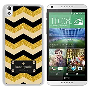 Beautiful DIY Designed Kate Spade Cover Case For HTC Desire 816 White Phone Case 156