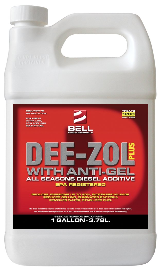 Bell Performance - Dee-Zol Plus Winter Treatment for Diesel Fuel - Case (4 - 1 Gal.) - SAVE 20% by Bell Performance