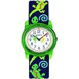 Timex Boys Time Machines Analog Elastic Fabric...