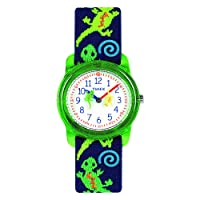 Boys Time Machines Analog Elastic Fabric Strap Watch