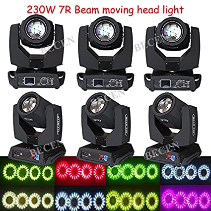 amazon com us stock 6pcs 230w osram 7r sharpy beam moving head