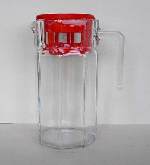 1,5 litro jarra de vidrio jarras para nevera: Amazon.es: Hogar