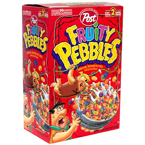Amazon.com : Post Cocoa Pebbles Cereal, 11-Ounce Boxes