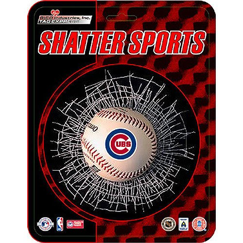Chicago Cubs MLB Shatter Ball Window Decal