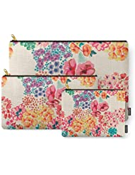Society6 Flowers Carry-All Pouch