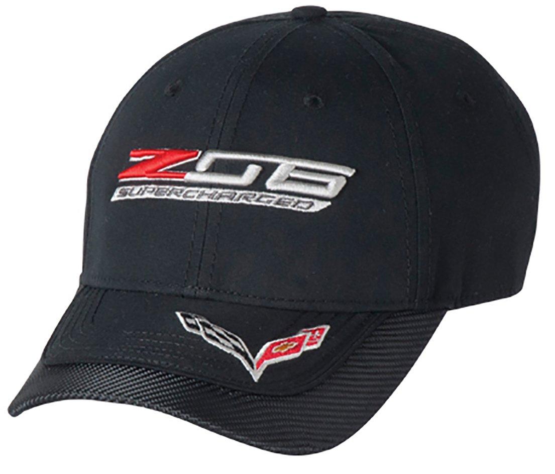 Z06 C7 Corvette Carbon Fiber Cap (Black) One Size by West Coast Corvette / Camaro