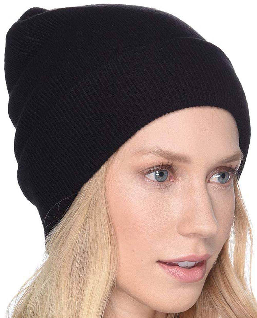 UGG Women's Luxe Knit Cuff Beanie Black One Size