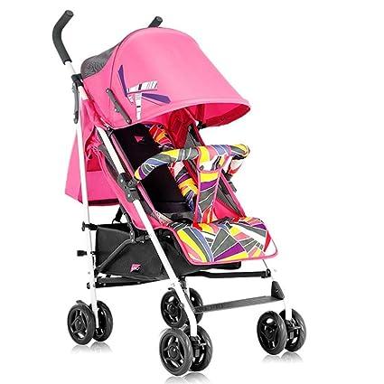 XYQ Carro de bebé-Baby Trolley Ligero Puede Sentarse/Lie ...